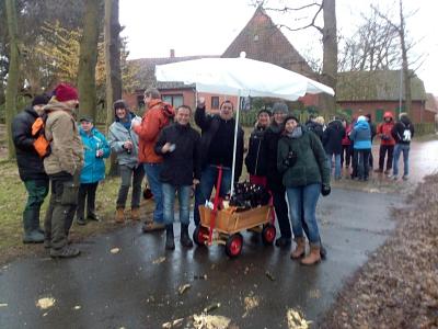 Grünkohl-Tour: Dem Wetter getrotzt – der Spaß blieb