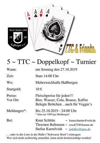 Einladung Doko Turnier 2019