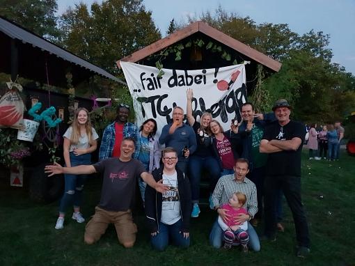 Gruppenbild Erntefest 2018