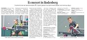 Zeitungsartikel Harke 30.08.2018 - Bezirksrangliste Meyers